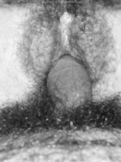 Черно-белые снимки девушки с волосатой пилоткой - секс порно фото