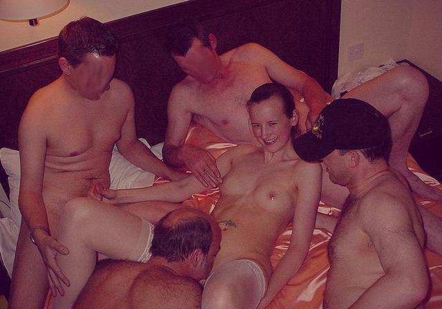 Набор фотографий групповухи и не только - секс порно фото
